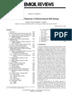 Direct Cellular Responses to Platinum-Induced DNA Damage