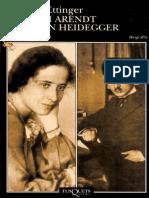 Ettinger Elzbieta - Hannah Arendt y Martin Heidegger