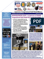Borinqueneers Congressional Gold Medal Alliance 3-23-2014 Update