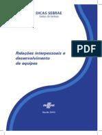 Relacoes Interpessoais e Desenvolvimento de Equipe