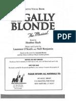 2012Legally Blonde Script
