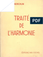 Koechlin C. - Trait de l'Harmonie - Vol. 1