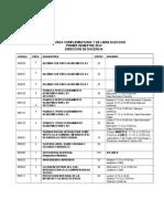 Complementarios Direccion de Docencia