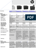 HP LJ Printer Models