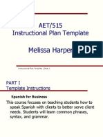 aet instructional plan-iii