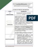DISEÑO DE ACCIONES DE FORMACIÓN COMPLEMENTARIA- NTIC