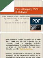 New York Times Company Vs