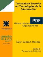 Unidad I - Pensamiento Sistemico