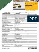 Material Inspeccion Seguridad Mantenimiento Motoniveladora
