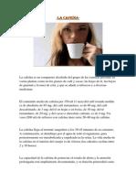 blog La cafeína