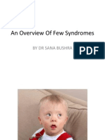 An Overview of Paediatric Syndromes
