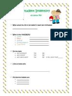 wc-sed assessment portfolio inventory