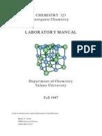 Inorganic Lab Manual