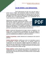 Terminologia Del Asfalto y Sus Aplicaciones