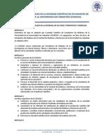 ESTATUTOS ORGÁNICOS DE LA SOCIEDAD CIENTÍFICA DE ESTUDIANTES DE MEDICINA DE LA UNIVERSIDAD SAN SEBASTIÁN