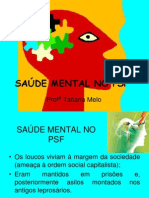 SAÚDE MENTAL NO PSF