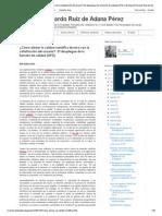 ¿Cómo alinear la calidad científica técnica con la satisfacción del usuario__ El despliegue de la función de calidad (QFD) _ El blog de Ricardo Ruiz de Adana Pérez