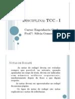 Formatação da contextualização do trabalho acadêmico