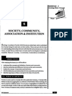 L-5 Spciety Community Association and Institution