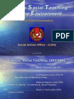 Catholic Social Teaching Powerpoint