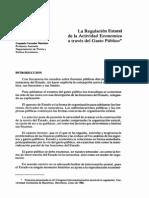 Corredor, La Regulacion Estatal de La Actividad Economica a Traves Del Gasto Publico