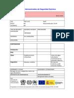Fichas Internacionales de Seguridad Química CLORURO