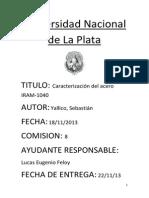 Materiales Yallico Sebastian Informe