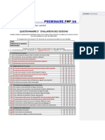 Questionnaire d'évaluation