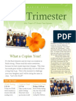 3rd trimester update for 3rd grade