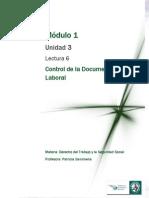 Lectura 6 -Control de la Documentación Laboral