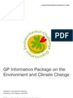 ECO GP Package on Climate Change and Environment
