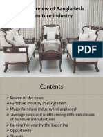 An overview of Bangladesh furniture industry