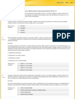 Evaluaciones Nacionales Intersemestrales 2013-2