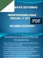 Ambiente Externo - Responsabilidad Social y Etica