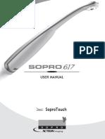 SOPRO 617 User Manual