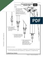 Mechanical Equilibrium Worksheet