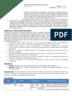 Planificacion Inglés 3er año 2014 - Yohana Solis