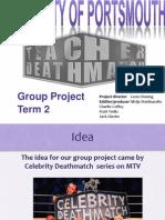 Group Production Presentation