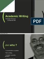 Academic Writing SH 09