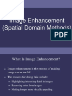 image enhancement in spatial domain