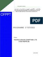 Programmes Detudes TCE