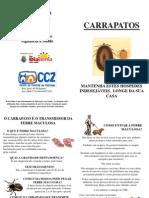 Folder Febre Maculosa
