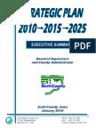 2010 - 2025 Scott County Iowa's Strategic Plan
