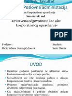Susic, D. - Korporativno Upravljanje
