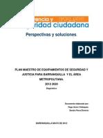 Diagnostico Plan Maestro de Equipamientos 2012 2020