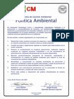 Politica Ambiental CPSAA Ver 01