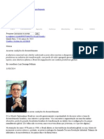 CDES - As novas condições do desenvolvimento Gonzaga Belluzo