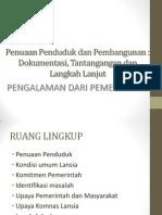 Penuaan Penduduk dan Pembangunan.ppt