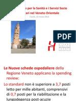 Prospettive per la Sanità e i Servizi Socio Sanitari nel Veneto Orientale