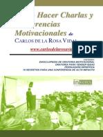Carlos de La Rosa Vidal - C Mo Hacer Charlas Motivacionales